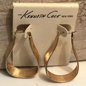 Kenneth Cole Hoop Earrings